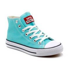 Spesifikasi Faster Sepatu Sneakers Kanvas Wanita 1603 04 Tosca Putih Yg Baik