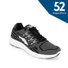 Review Toko Faster Sepatu Sport Sneakers Sepatu Lari Casual Sepatu Kets L6106 Black White Size 40 44 Online