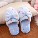 Harga Favolook Wanita Fashion Ikatan Simpul Sandal Kamar Tidur Rumah Sepatu Sandal Biru Ukuran 38 39 Intl Favolook Tiongkok