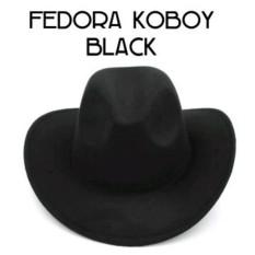 Fedora Hat Topi Koboy Cowboy Hat - Emegld