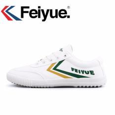 Beli Feiyue Sneakers Pria Olahraga Sepatu Sandal Putih Sepatu Untuk Sepatu Wanita Kuning Hijau Intl Online