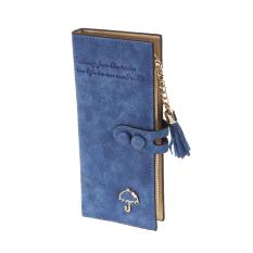 Beli Payung Panjang Wanita Tas Multi Fungsional Dompet Buram Biru Dengan Kartu Kredit