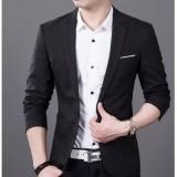 Beli Fesyen Zone Blazer Black Curve Hitam Dengan Kartu Kredit