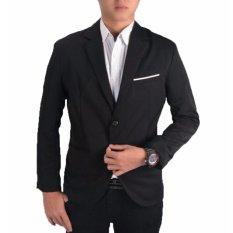 Jual Fesyen Zone Blazer Blackwhite Hitam Fesyen Zone