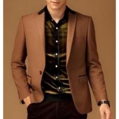 Fesyen Zone Blazer Entry Brown - Coklat