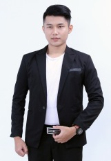 Review Fesyen Zone Blazer Style Hitam Indonesia