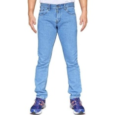 FF Celana Jeans Panjang Pria Wrangler Hight Quality [Light Blue]