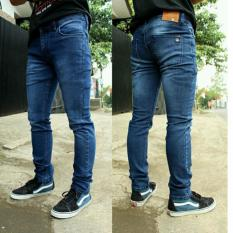 Toko Fifteen Denim Celana Jeans Skinny Pria Biowash Scrub Termurah Di Jawa Barat