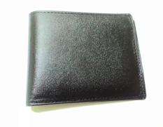 fika leather dompet kulit sapi polos - hitam