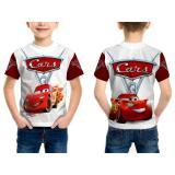 Beli Fika Store T Shirt Kaos Pendek Anak Unisex Cars 3 3D Printed Sublimation Art 1 Online Jawa Barat