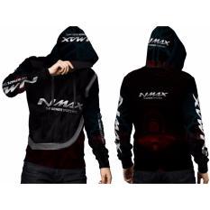 [Fikastore] Jaket Hoodie Sweater Pria MOTOR YAMAHA NMAX 3D Full Print Sublimation - PullOverr 006