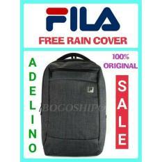 Fila - Tas Laptop Backpack - Pietro (Original) - Free Rain Cover - Gr0yj4