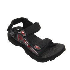Finotti Sandal Gunung Pria Mountain III - Hitam/Merah Size 38-43