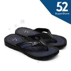 Finotti Sandal Kasual Pria Bento 4 - Black/Navy Size 38/43