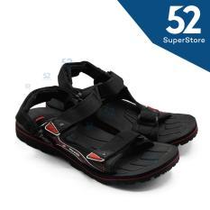 Beli Finotti Sandal Kasual Sandal Gunung Pria Mountain Ii Black Red Size 38 43 Kredit