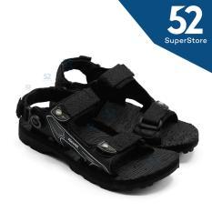 Finotti Sandal Kasual /Sandal Gunung Pria Mountain III - Black/Grey Size 38/42