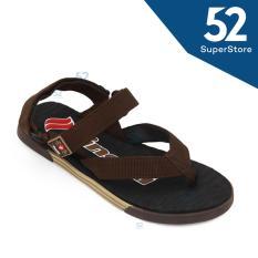 Finotti Sandal Pria Dyna - Brown Size 40/43