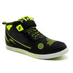 Finotti Sepatu Sekolah J.Bieber Zero - Black/Citroen