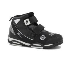 Finotti Sepatu Sekolah J Bieber Zero Jr Black White Terbaru