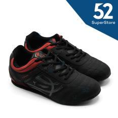Finotti Sepatu Sneakers Pria G-Dragon - Black/Red Size 39/42