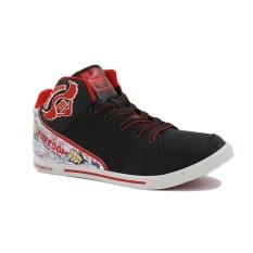 Finotti Sepatu Sneakers Pria J.Bieber 9 - Black/Red