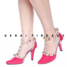 FIRDAUS High Heels Sepatu wanita Merah - 292IDR66900. Rp 66.900