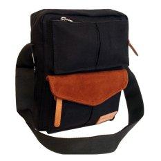 Jual Firefly Bailey Black Sling Bag Vintage Branded