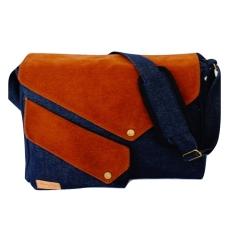 Penawaran Istimewa Firefly Ranger Navy Denim Messenger Bag Laptop Bag Terbaru
