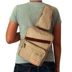 Toko Jual Firefly Robin Cream L Sling Bag L Shoulder Bag L Cross Body Bag Beige