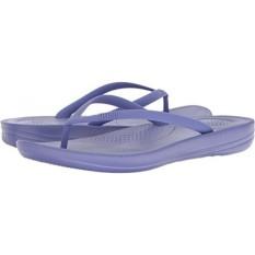 FitFlop Wanita Iqushion Ergonomis Lipat-Flop Biru Violet 7 M Kami-Internasional