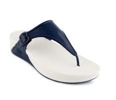 FitFlop Women's Superjelly Flip Flop - Navy