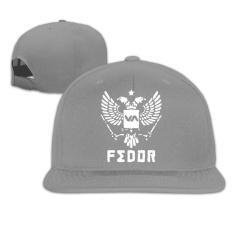 Fitted Cotton Baseball Caps Hat Fedor Emelianenko Logo MMA RVCA Embordiery - intl