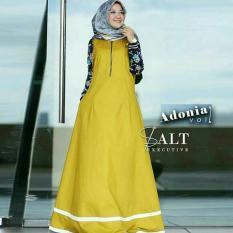 Diskon Besarfjco Adonia Maxi Dress Muslim Setelan Muslim Baju Muslim Dress Maxi Maxi Dress Hijab Fashion Hijab Style