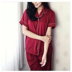 FJCO BC- Pajamas Basic CP / Piyama wanita / Baju santai / Baju tidur / Setelan tidur