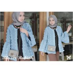 FJCO Blazer Bleser Rubiah / Blazer Wanita / Rompi Wanita / Jaket Linen / Baju Muslim / Outer Muslim / Blazer Muslimah / Hijab Style / Hijab Fashion