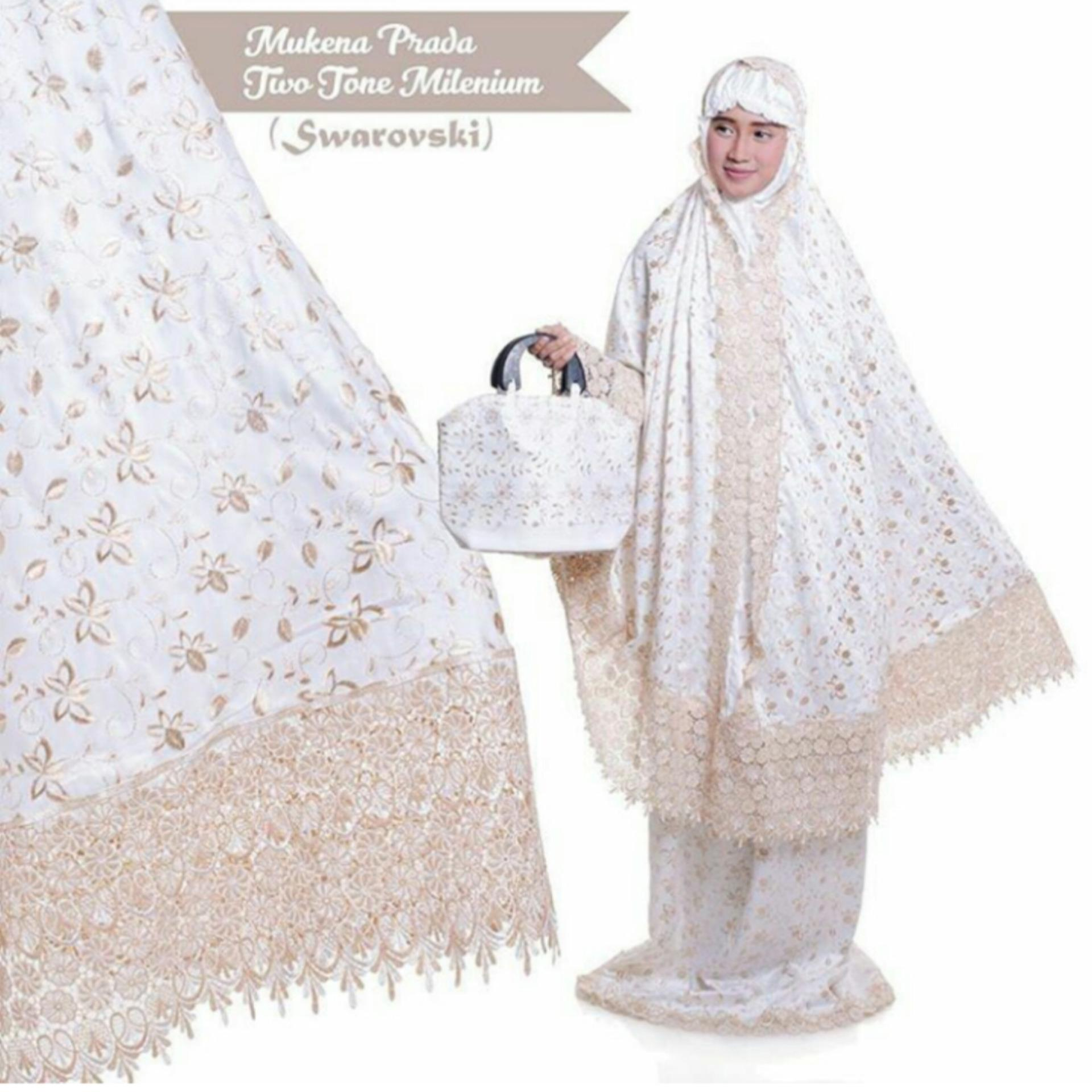 Fit to XXL Flam Mukena Prada_WHITE