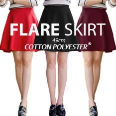 Flare Skirt A line skirt rok wanita Rok cewekIDR160000. Rp 160.000