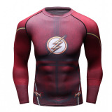 Jual Beli Flash Logo Men Compression Long Shirt Top For Sport Fashion Red Intl Di Hong Kong Sar Tiongkok