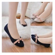 Flat Shoes Balet Pita Salem NJ33 100%  ASLI CIBADUYUT