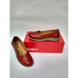 Toko Flat Shoes Kickers Pointed Merah Maroon Yang Bisa Kredit