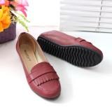Toko Flatshoes Flat Shoes Gratica Ap061 Maroon Gratica Online