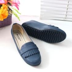 Jual Flatshoes Flat Shoes Gratica Ap061 Navy Original