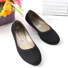 Jual Flatshoes Flat Shoes Gratica Jj01 Hitam Antik