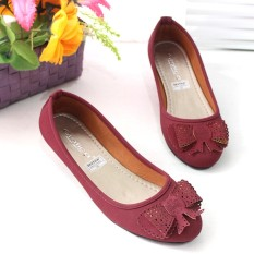 Tips Beli Flatshoes Flat Shoes Gratica Mi01 Maroon