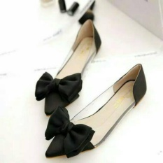 supplier flatshoes mika hitam