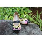 Harga Flatshoes Totol Totol Yellow Cream Fashion G*rl