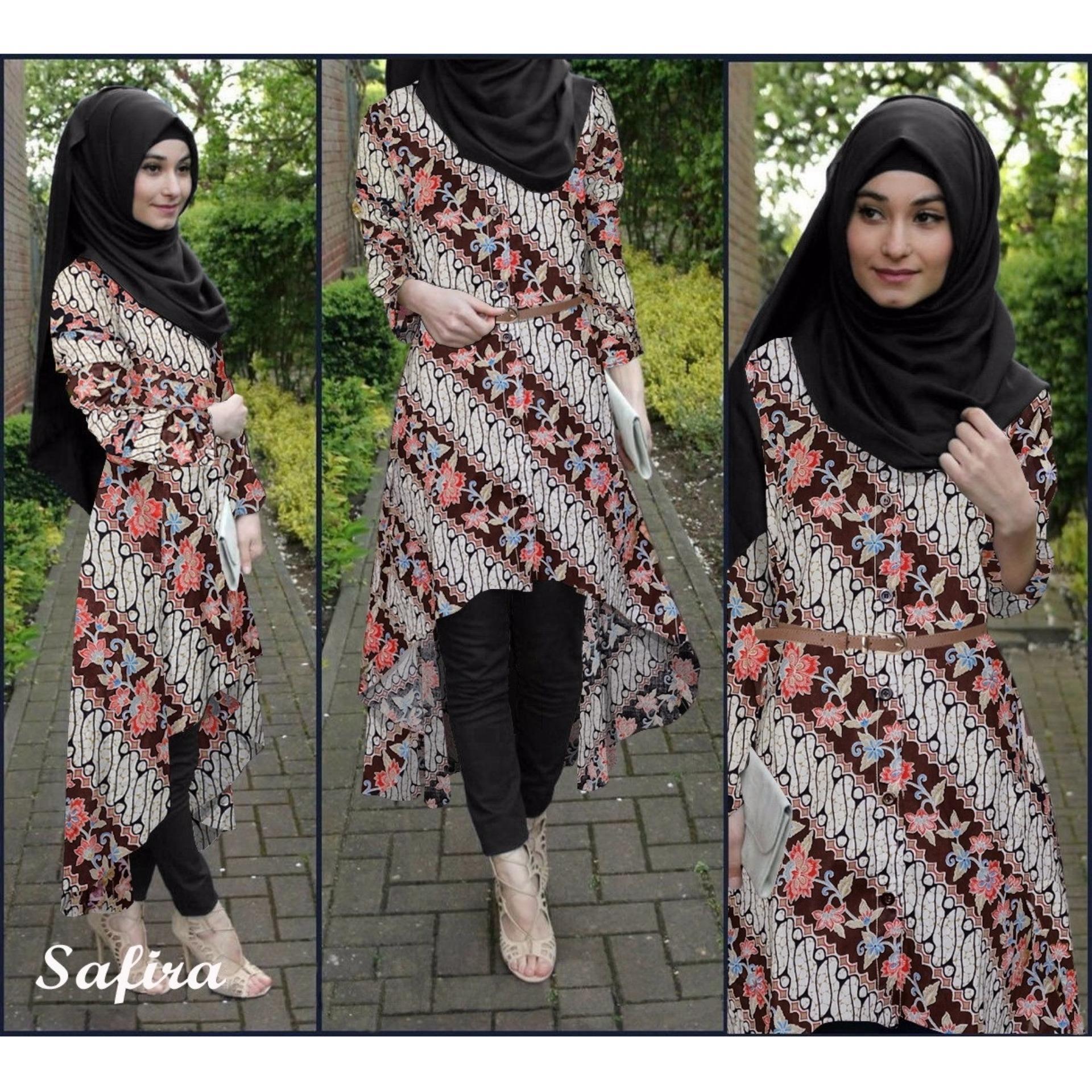 Hemat Ladies Fashion Batik Wanita Couple Resa Kemeja Cowok Pria Baju Muslim Cewek Hijaber Gamis Maxy Maxi Long Veana Dress Limited Flavia Store Set 4 In 1 Fs0697 Coklat Setelan Muslimah