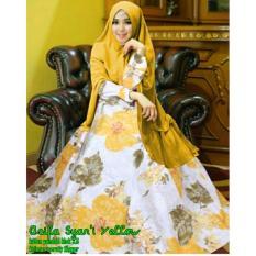 Beli Flavia Store Gamis Syari Set 2 In 1 Fs0610 Kuning Baju Muslim Wanita Syar I Gaun Muslimah Maxi Dress Lengan Panjang Hijab Rnasifa Lengkap