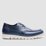 Jual Brodo Sepatu Pria Flex Navy Ivory Sole Brodo Footwear Grosir