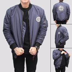 Ulasan Tentang Jaket Bomber Pria Bgsr Big Logo Navy